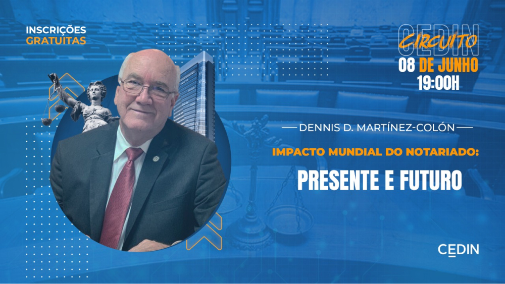 Presença internacional no Circuito CEDIN! – palestrante Dennis D. Martínez-Cólon